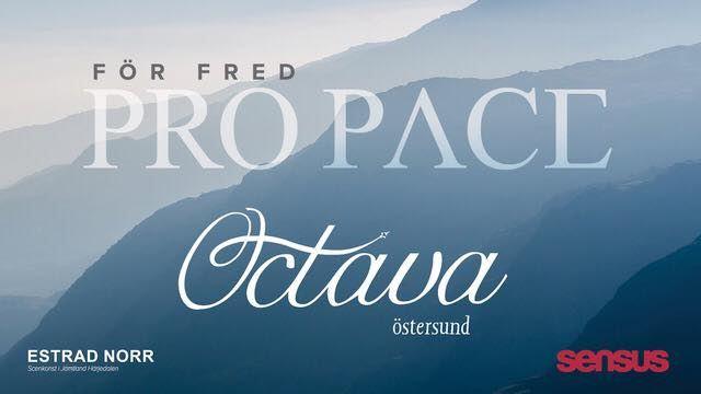 © Copy: https://sv-se.facebook.com/events/250998189092958/, Pro pace, Octava choir Östersund