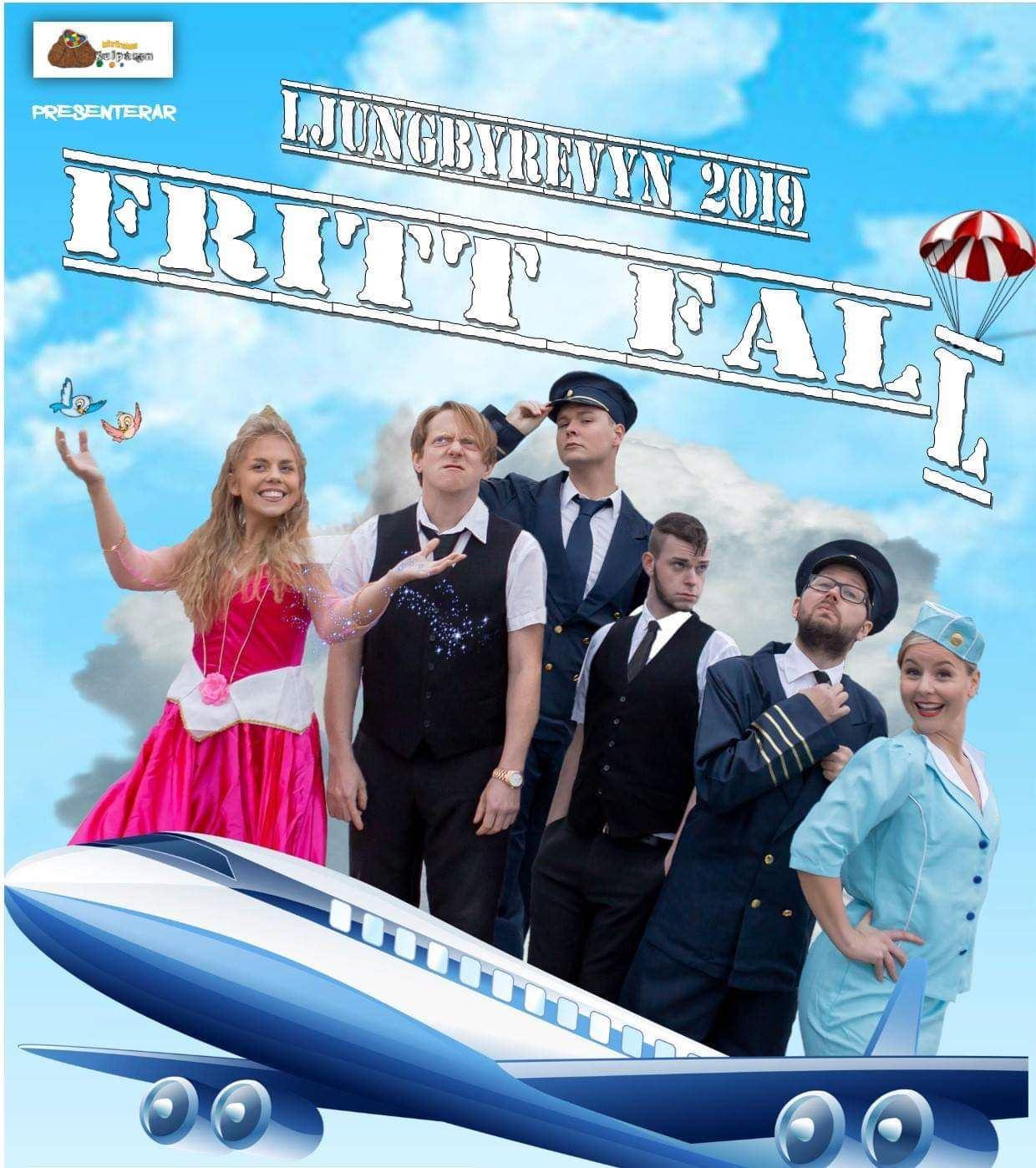 Ljungbyrevyn 2019 - Fritt fall