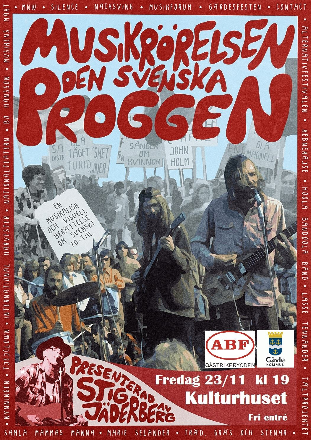 Musikrörelsen - Den Svenska Proggen