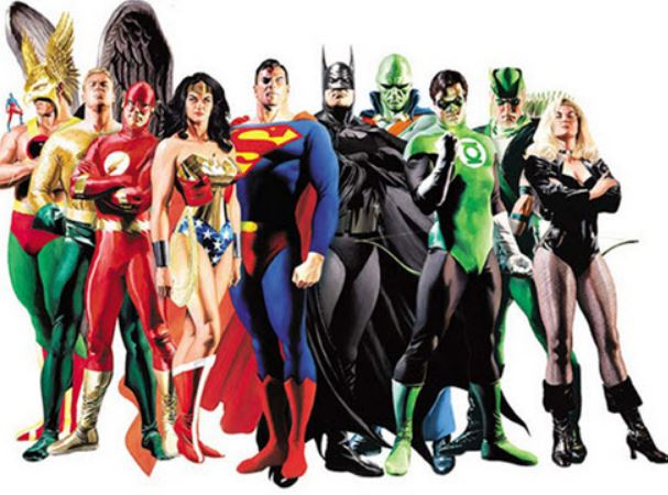 Familjelördag med superhjälte-tema