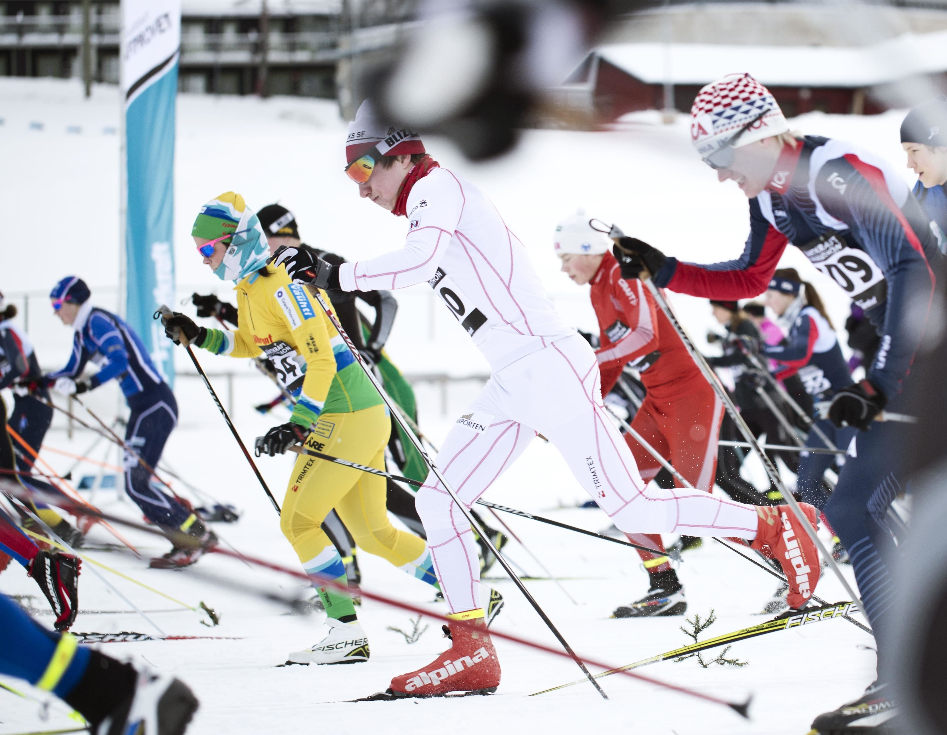 © Copy: Visit Östersund, FIS Cross Country Scandinavian Cup and SSF Cross Country