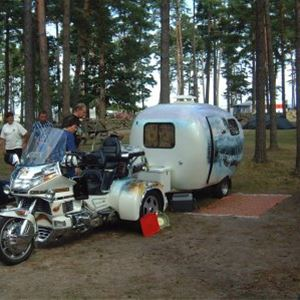 Camping ptich caravan/motorhome with electricity (Area Red, <100 m²)