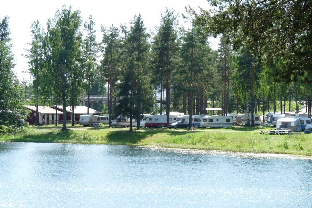 Vivstavarvstjärns Camping Timrå/Ferienhäuser