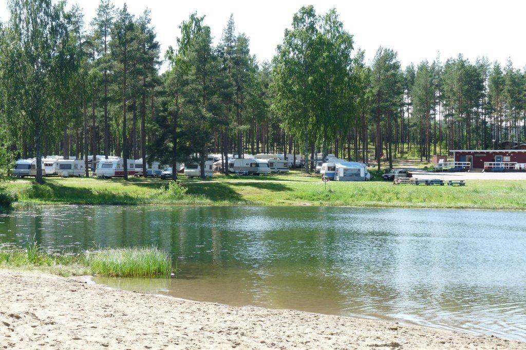 Vivstavarvstjärns Camping, stugor i Timrå
