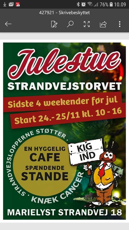 Julestue på Strandvejstorvet i Marielyst, Marielyst Strandvej 18,4873 Væggerløse
