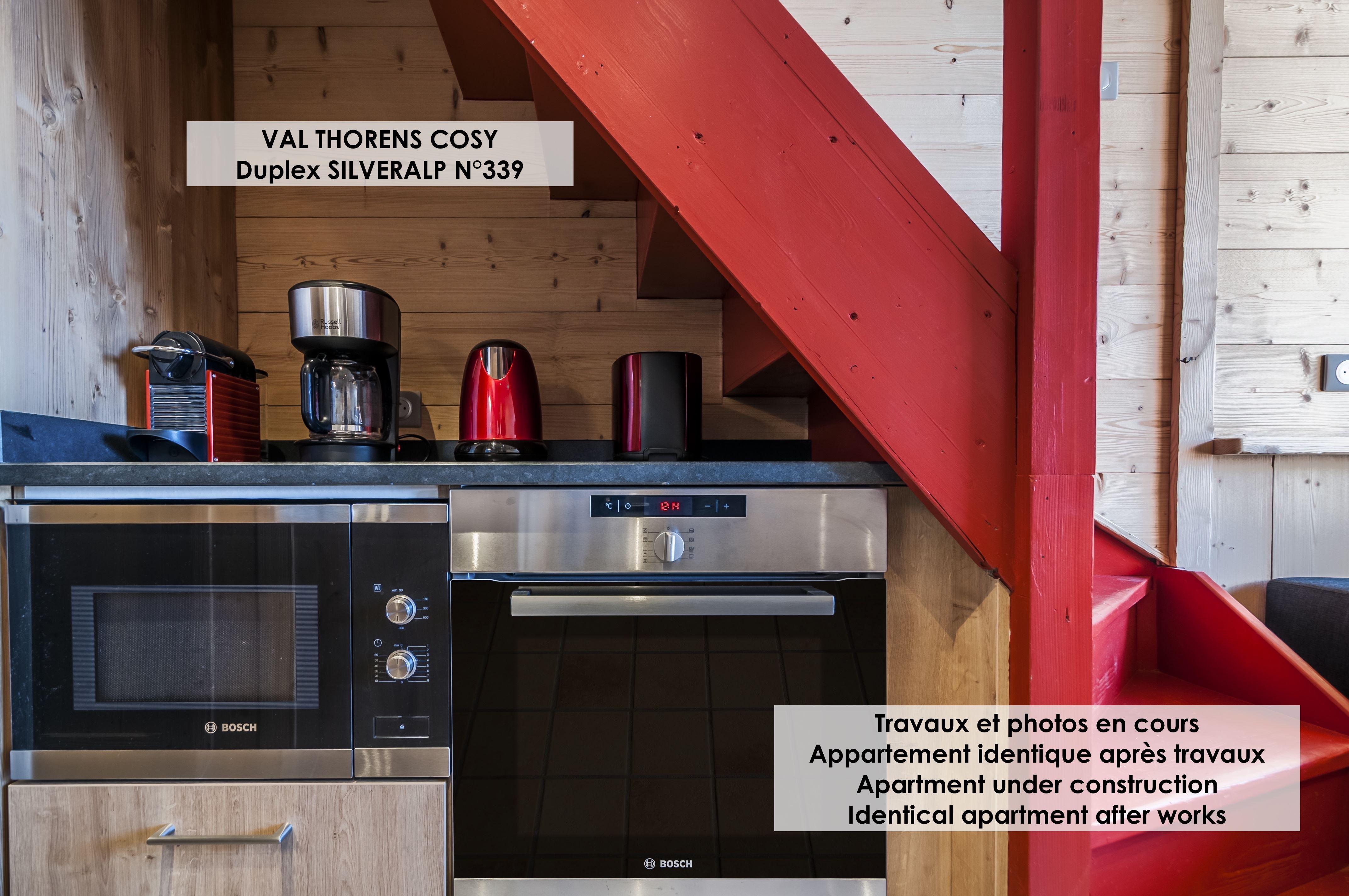 Silveralp 339 > 3 Pièces en Duplex + Cabine - 6 Personnes - 4 Flocons Or (Ma Clé IMMO)