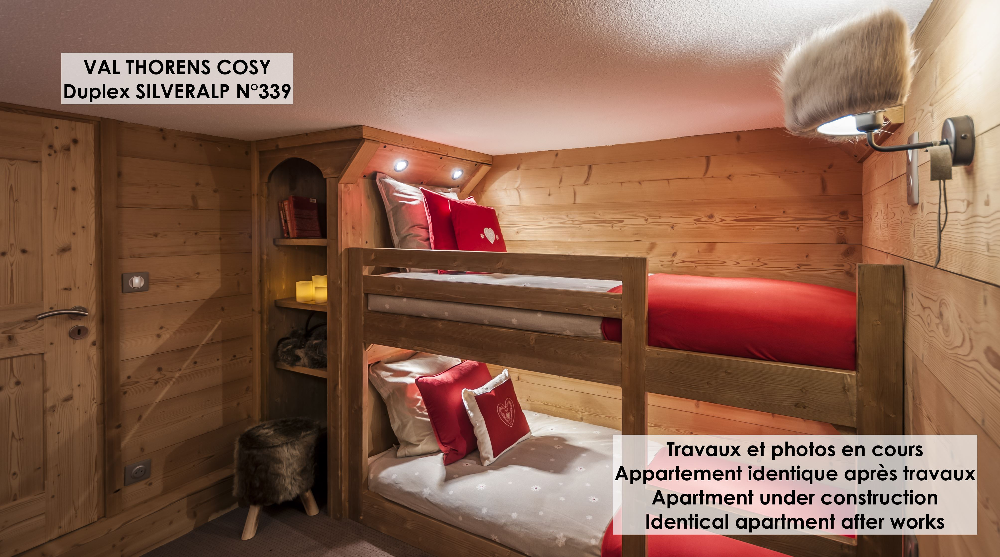 Silveralp 339 > 3 Room + Cabin in duplex - 6 People - 4 Gold Snowflakes (Ma Clé IMMO)