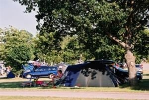 Campingpitch caravan/motorhome/tent without electricity
