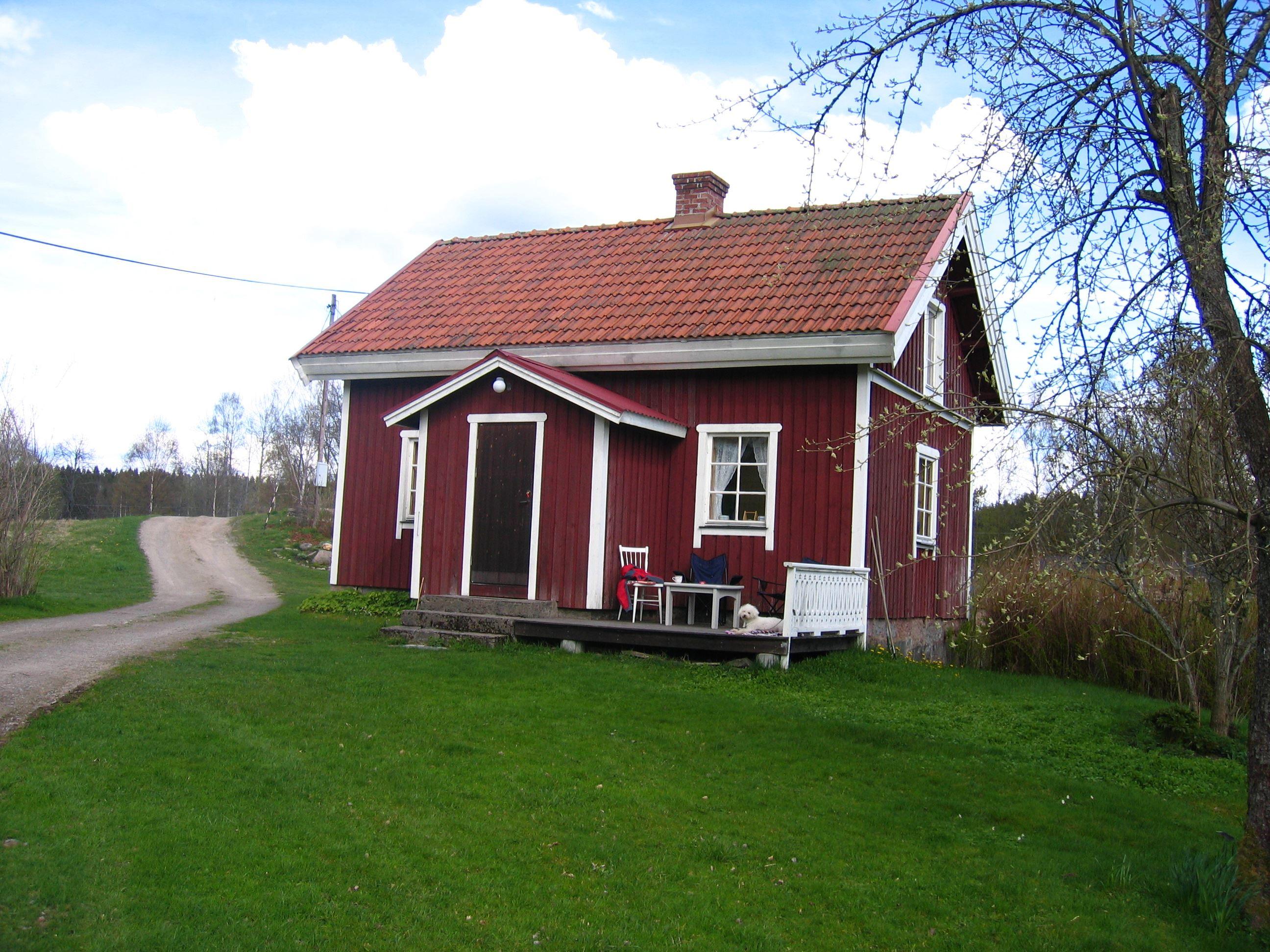 DED058 Gamletorp - schönes Haus am Stora Le.