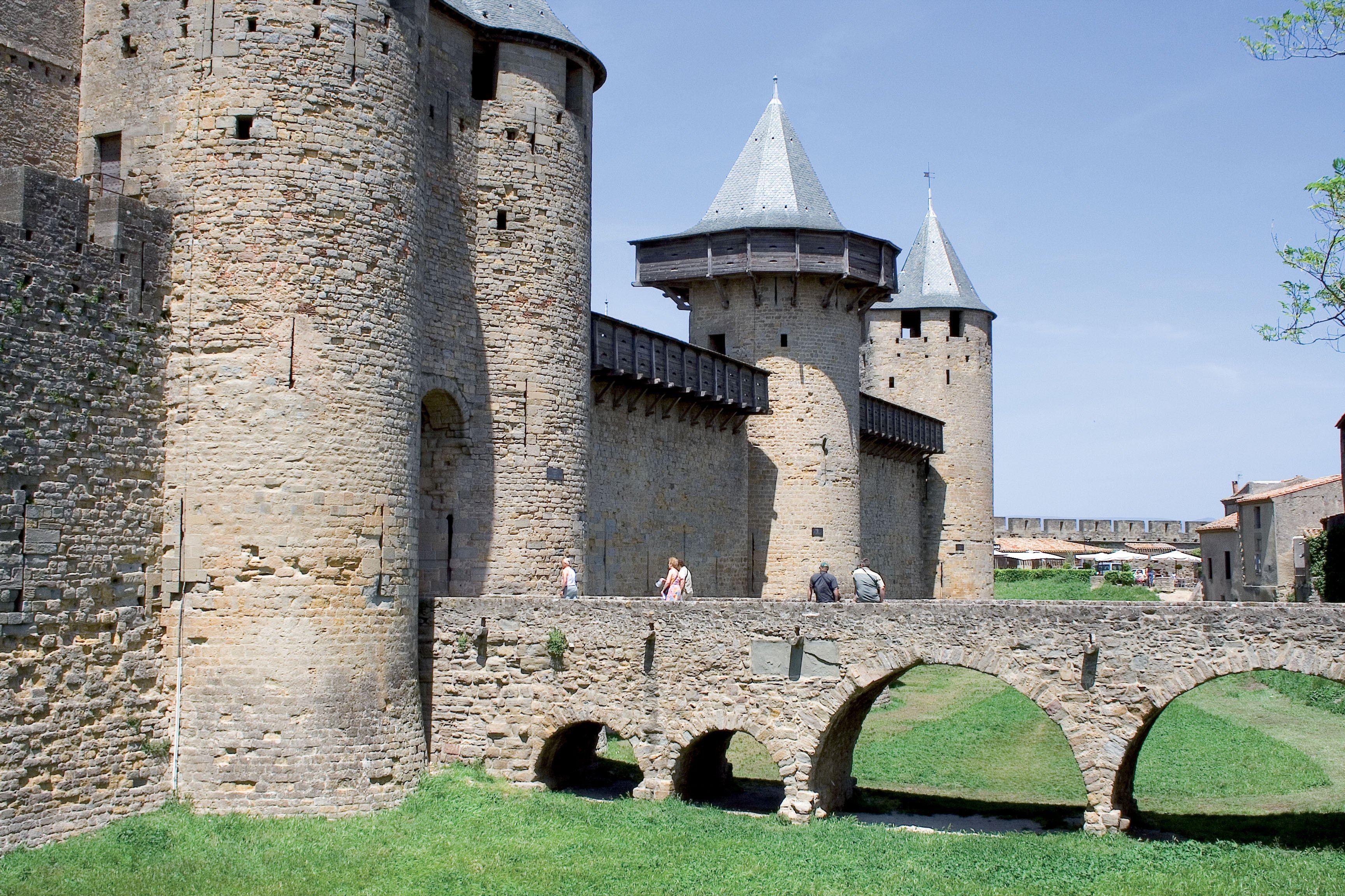 Visite du Château comtal, au cœur de la Cité médiévale