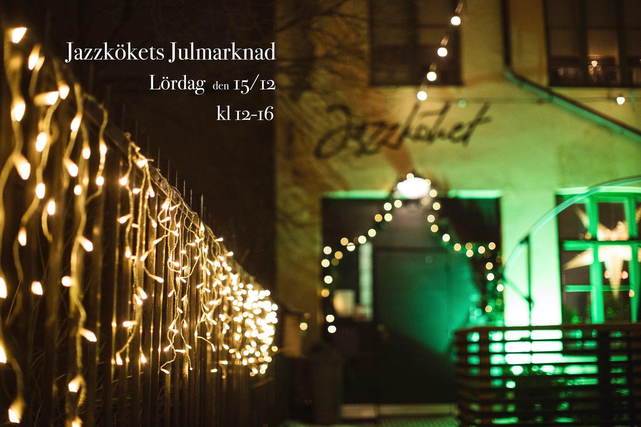 © Copy: https://www.facebook.com/events/291876768092510/, Jazzkökets Julmarknad 2018