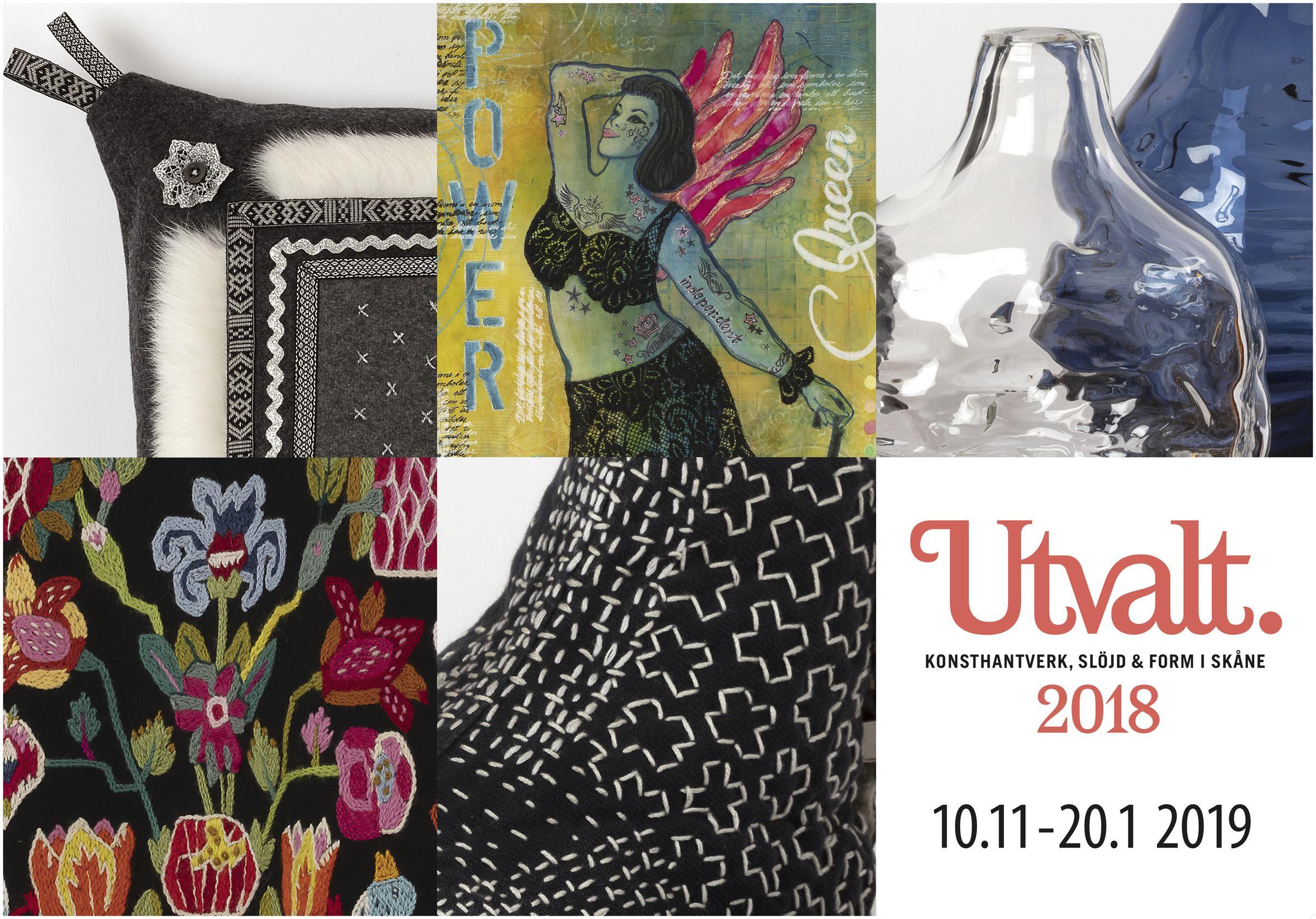 © utvalt, Jurybedömd utställning med konsthanverk