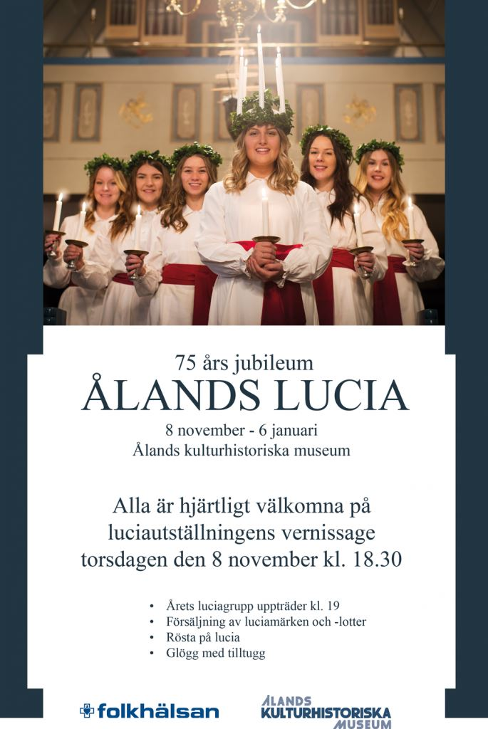 Exhibition on Åland's Saint Lucia traditions