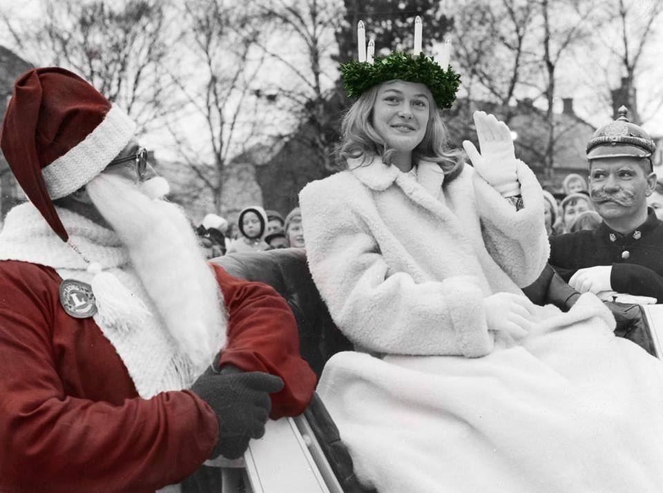 Christmas in Trelleborg city centre!