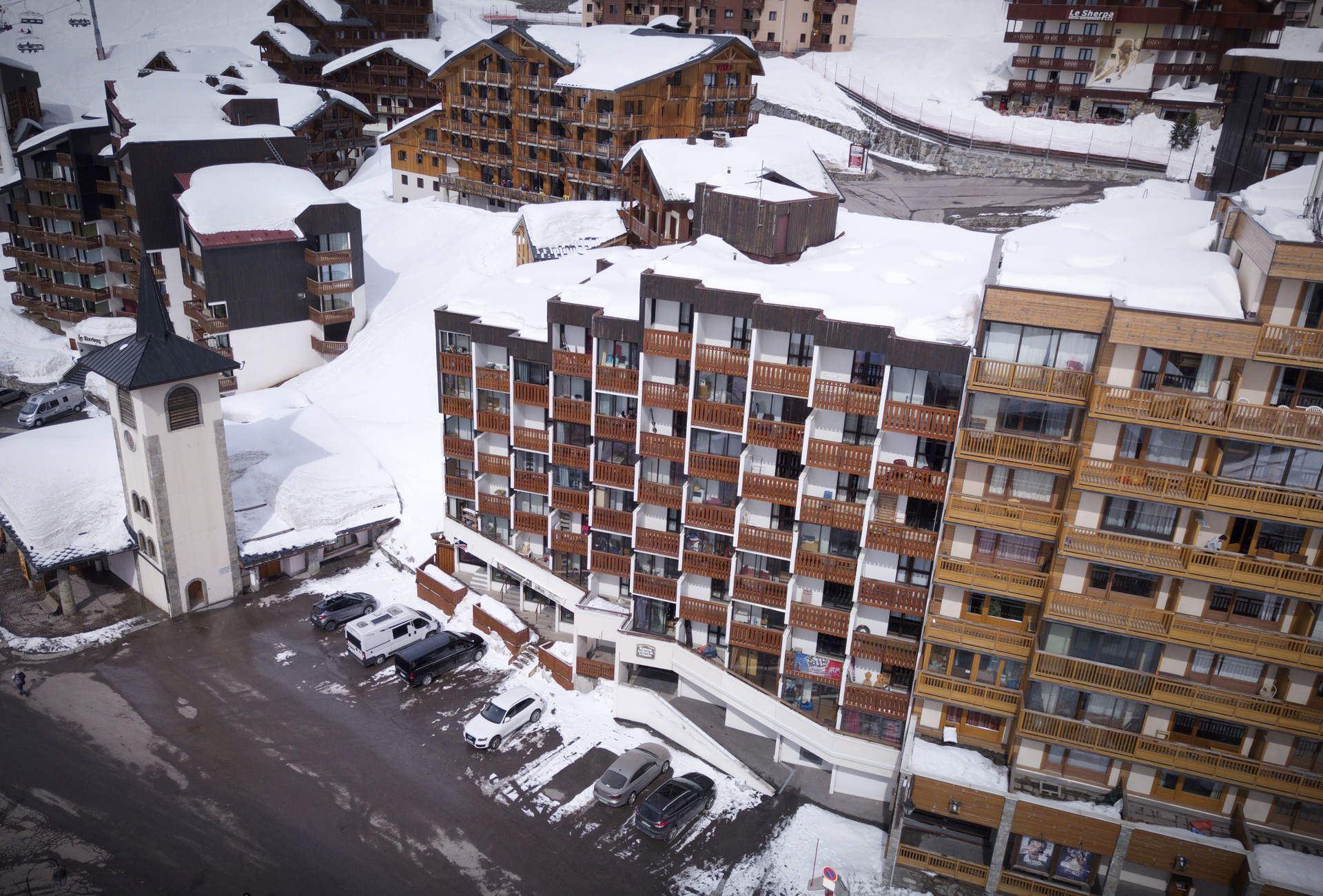 HAUTS DE VANOISE 408 / STUDIO 2 PERSONS - 2 SILVER SNOWFLAKES - VTI