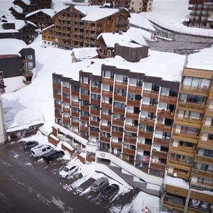 HAUTS DE VANOISE 402 / STUDIO 2 PERSONS - 1 SILVER SNOWFLAKE - VTI