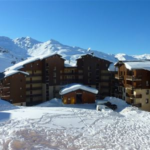 REINE BLANCHE 86 / APARTMENT 2 ROOMS 4 PERSONS - 3 GOLD SNOWFLAKES - VTI