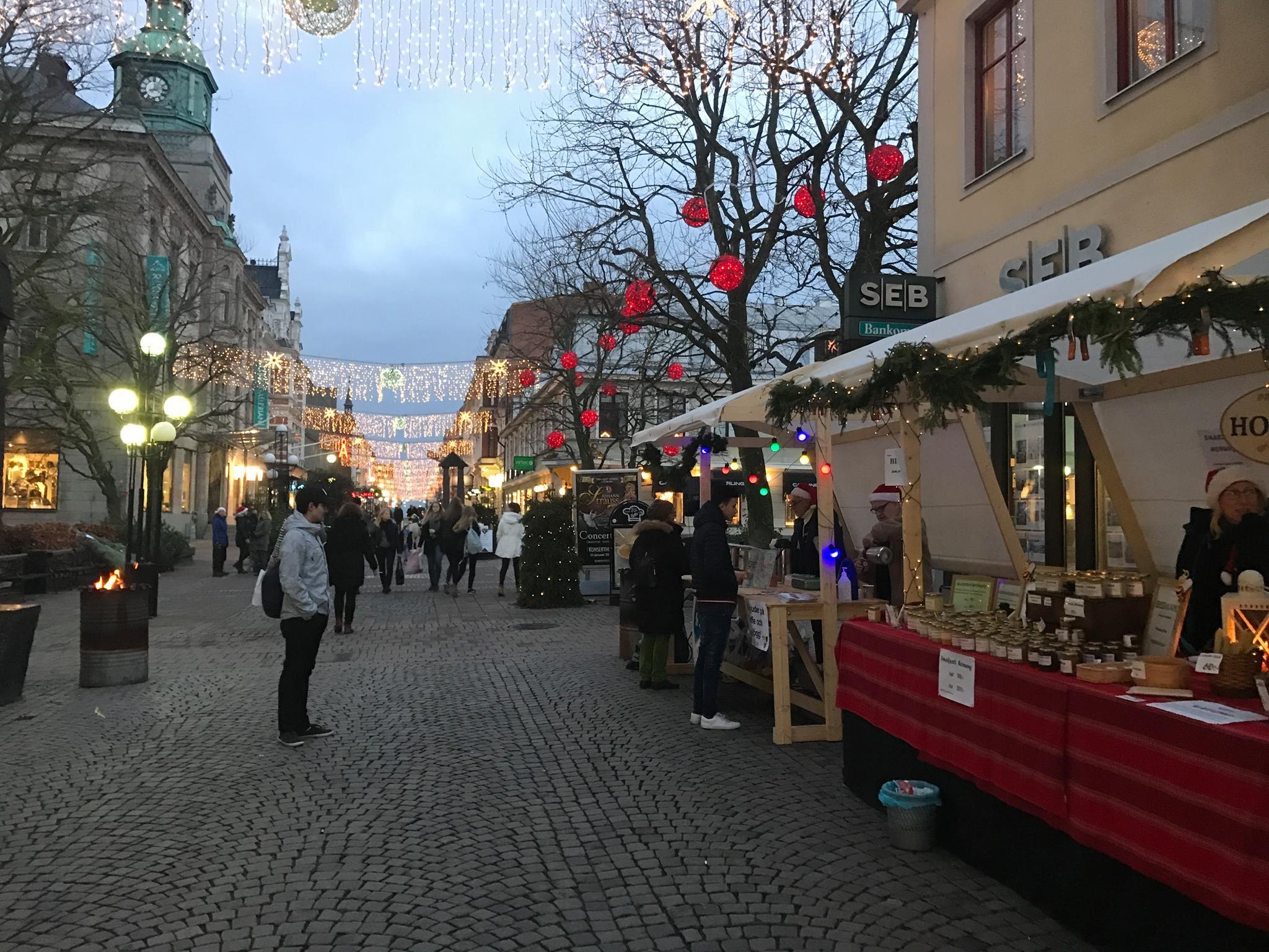 Skyltsöndag i Karlskrona City