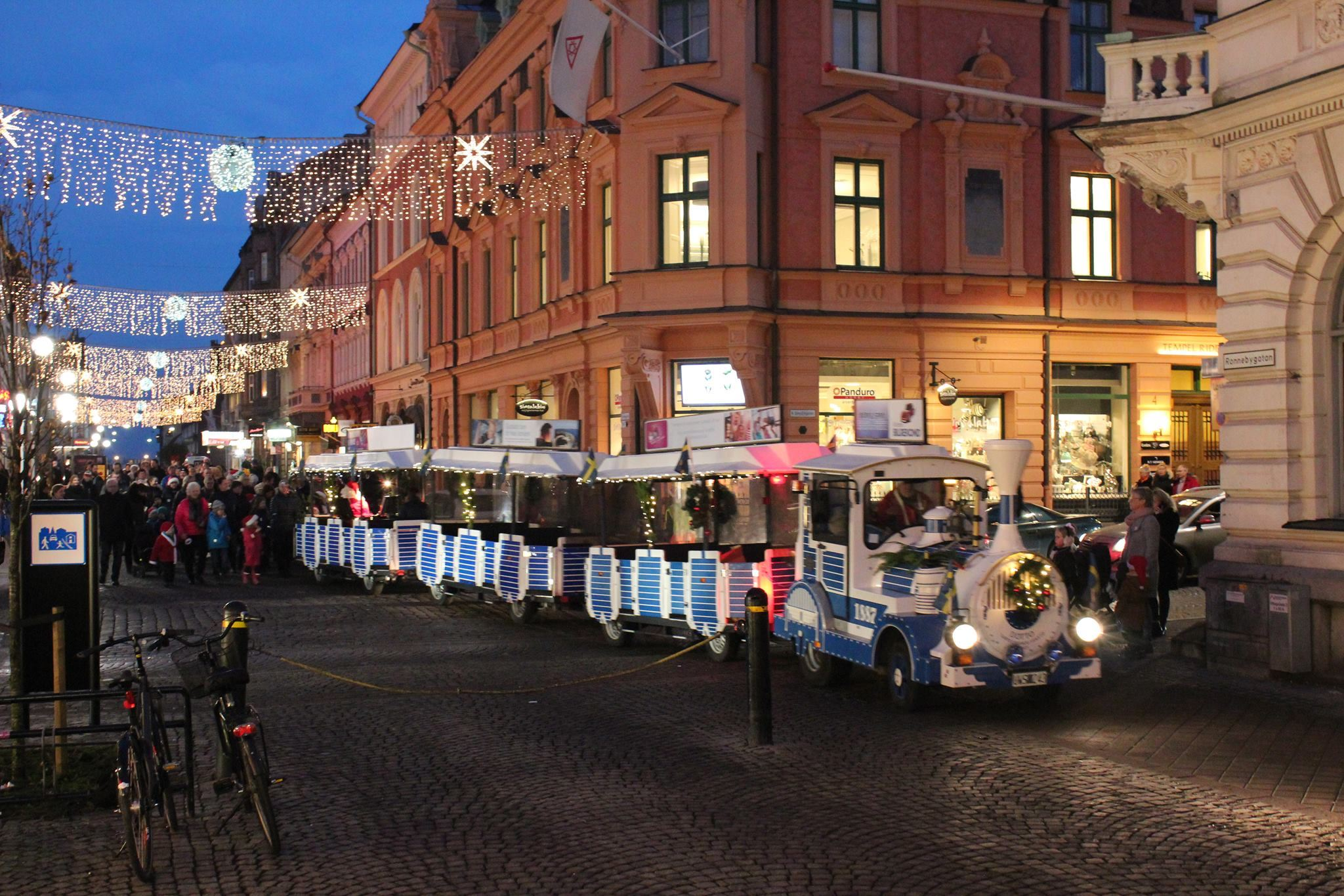 Julparad i Karlskrona City 2018