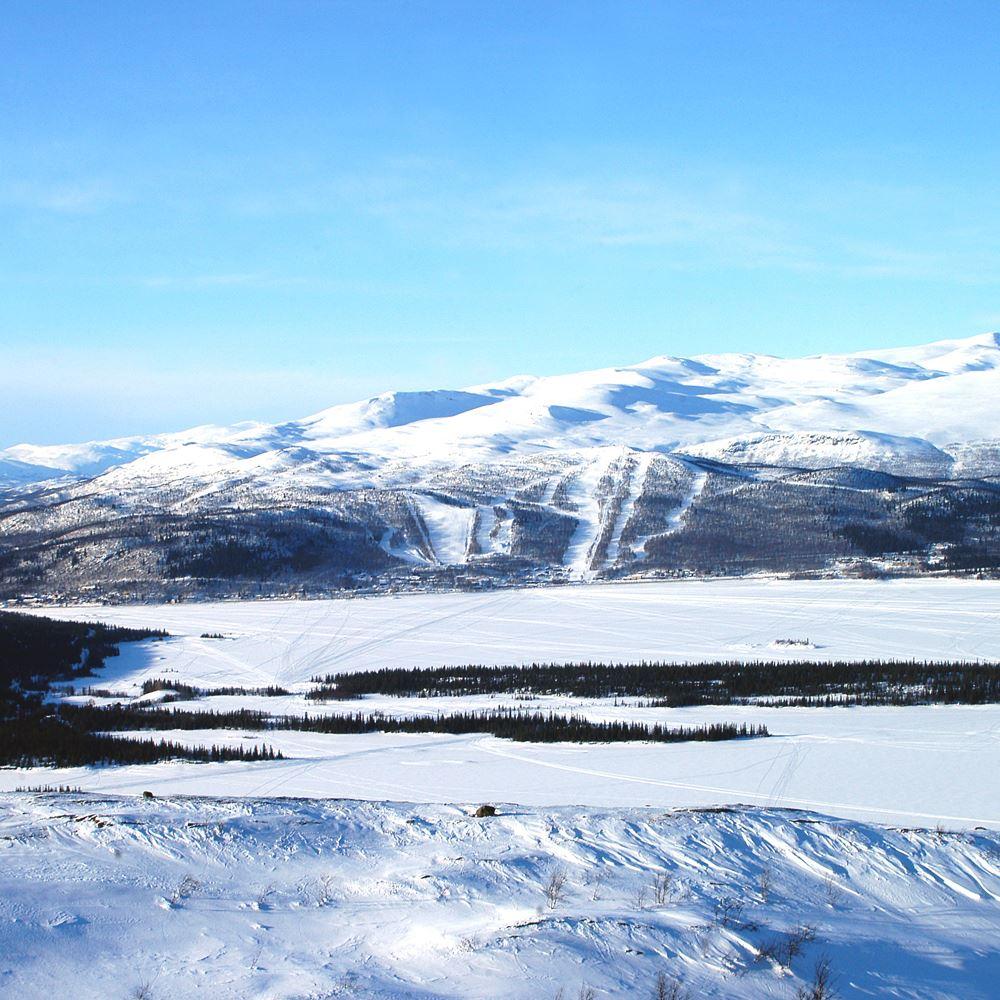 Sam Hedman,  © Hemavan Tärnaby PR-förening, Tärnabys skidområde