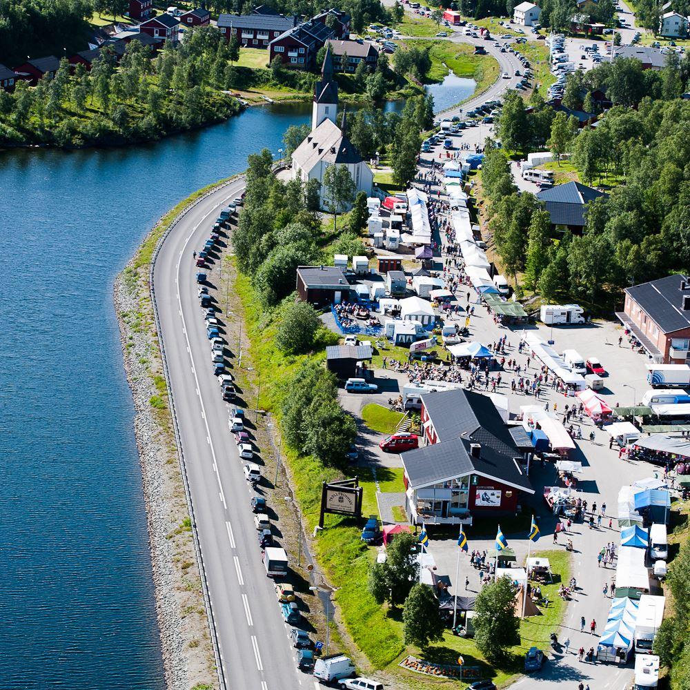 """""""Gränshandelsmarknaden"""" - Festival in Tärnaby"""