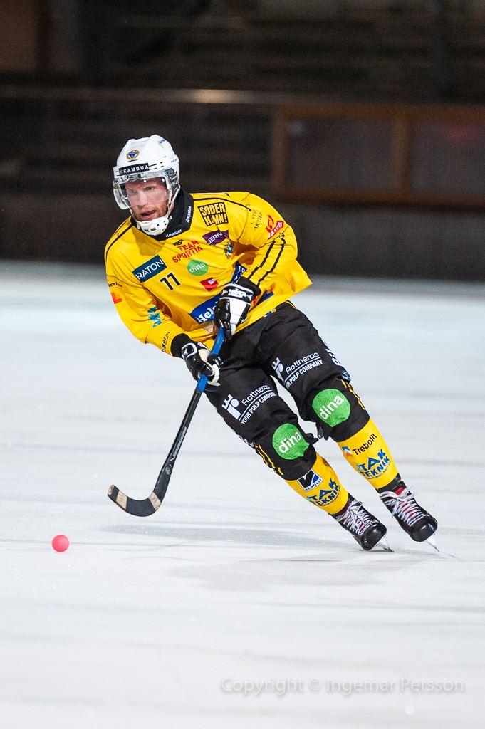Ingemar Persson, Elitseriebandy Broberg - IK Sirius