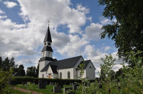 Särna kyrka sommar