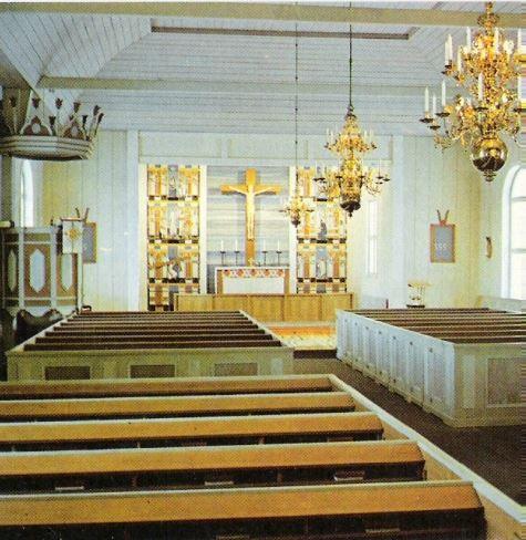 Särna kyrka inne