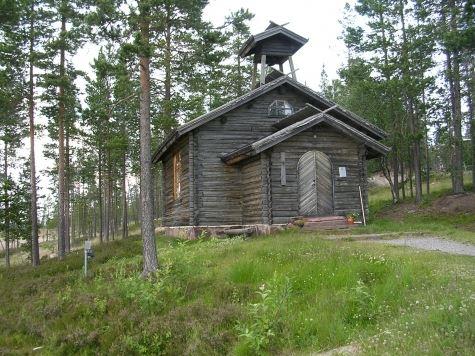Fjällkyrkan Idre Fjäll