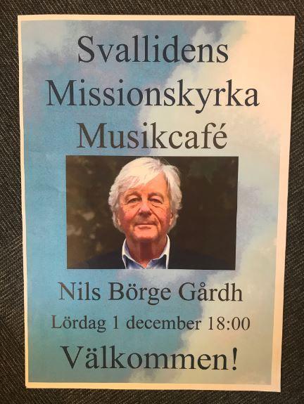 Musikcafé i Svalliden