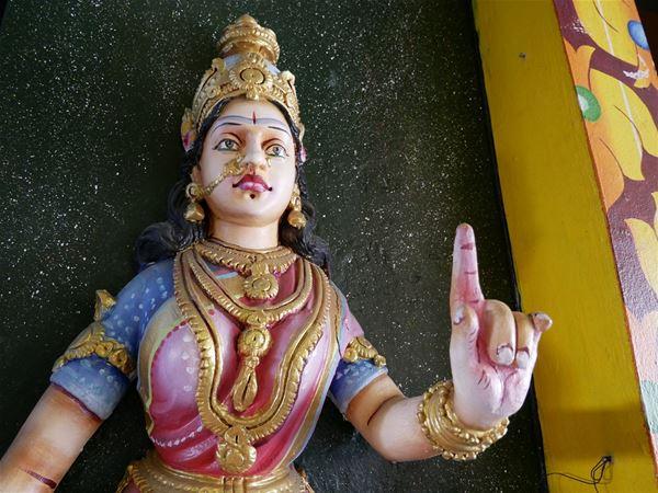 Visite d'un temple hindou
