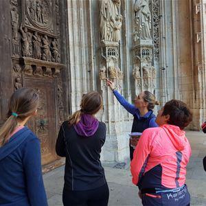 Footing culturel : visite sportive ou marche rapide