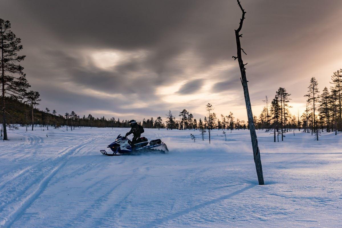 """Lyngen Adventure,  © Lyngen Adventure, """"Troll Hunting"""" by snowmobile - Lyngen Adventure"""