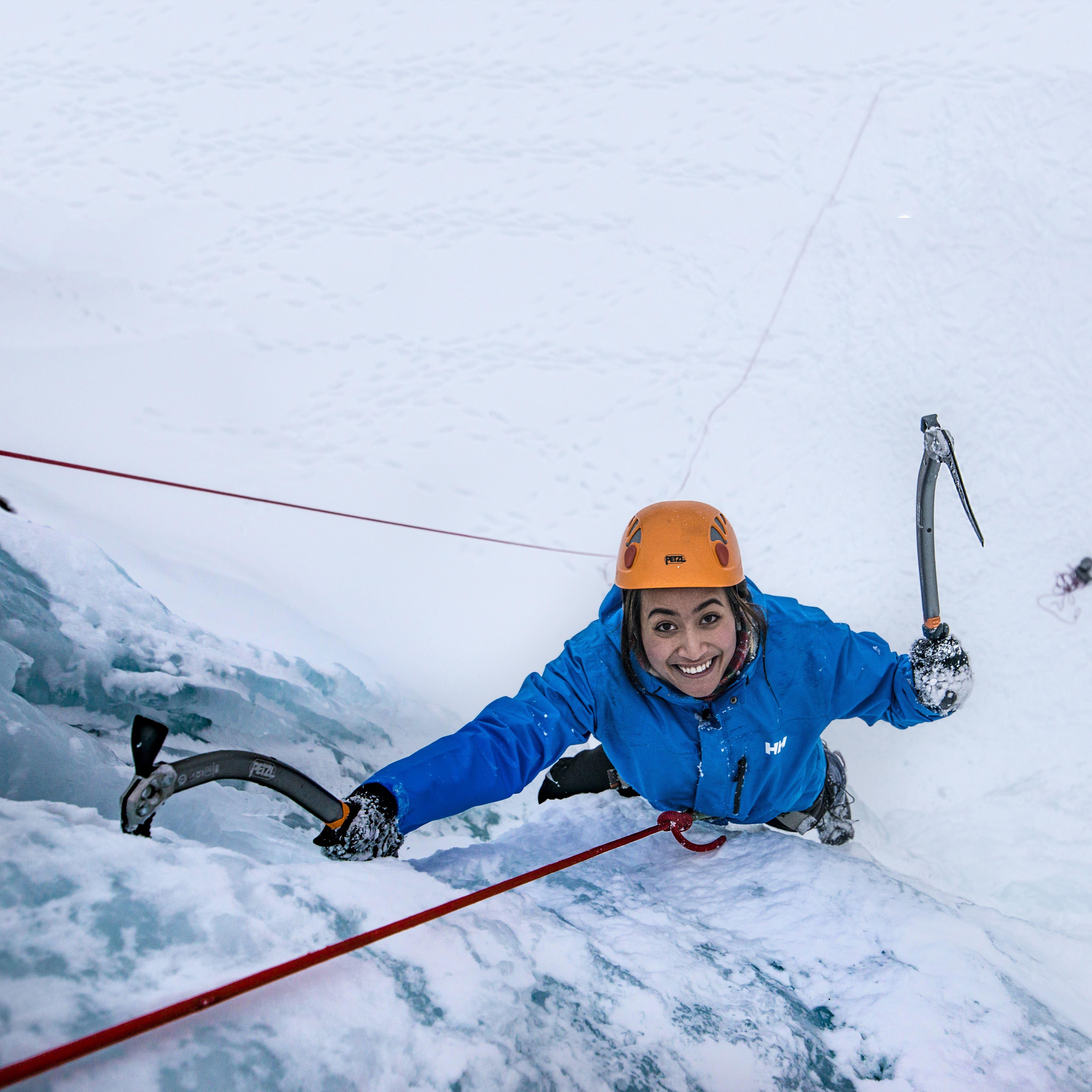 Ice Climbing - Departure Lyngseidet 10:45.
