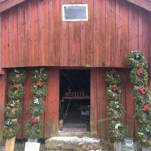 Christmas market at Labbas hembygdsgård in Storby, Eckerö