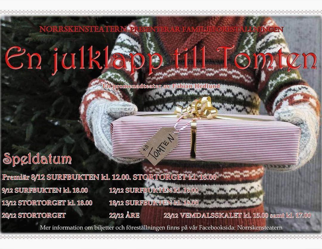 © Copy: Norrskensteatern, En julklapp till Tomten - en promenadteater