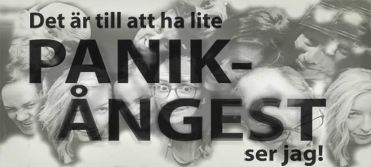 © Copy: Östersunds teaterverkstad, Det är till att ha lite panikångest, ser jag!