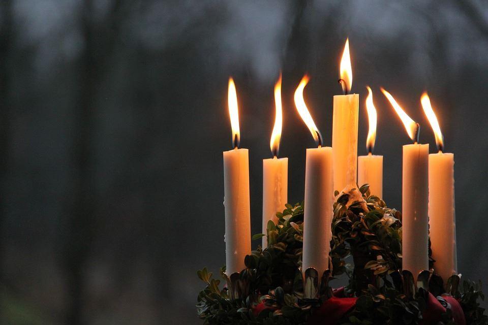 Luciakröning på Vintertorget