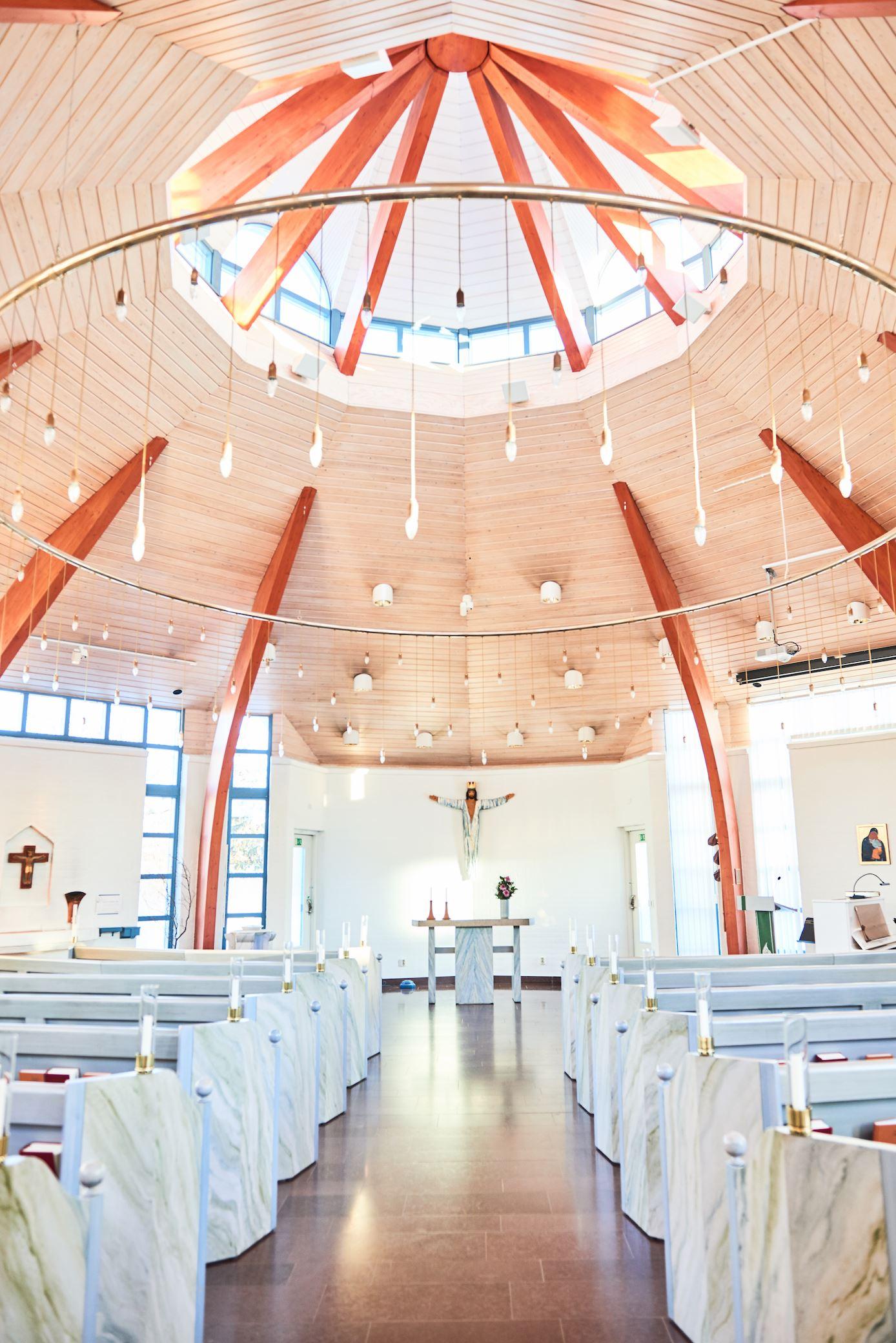 Julnattsmässa i S:t Johannes kyrka