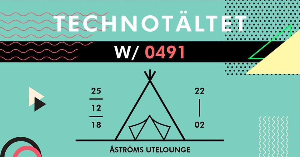 0491 Presents Technotältet - Juldagen
