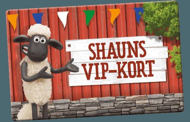 Shaun VIP-kort
