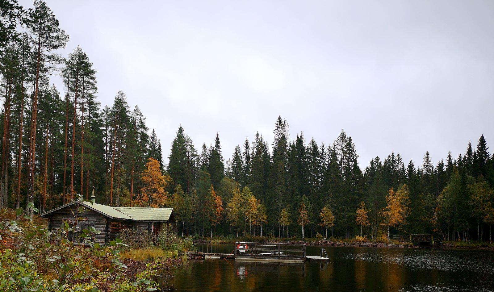 © Navardalen, Navardalens Vildmarksstation, STF Vandrarhem