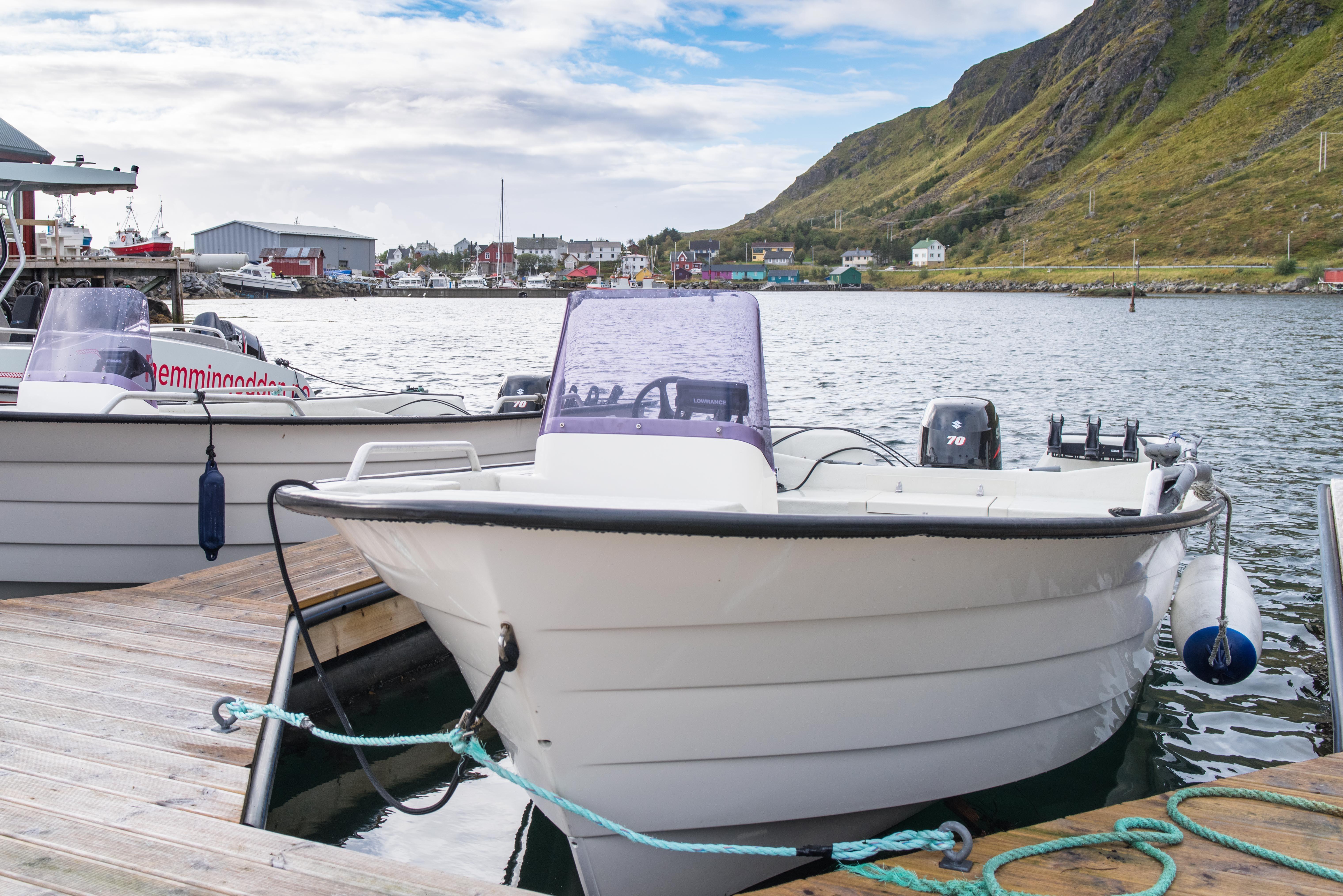 Boat rental in Ballstad - Hemmingodden Lofoten Fishing Lodge