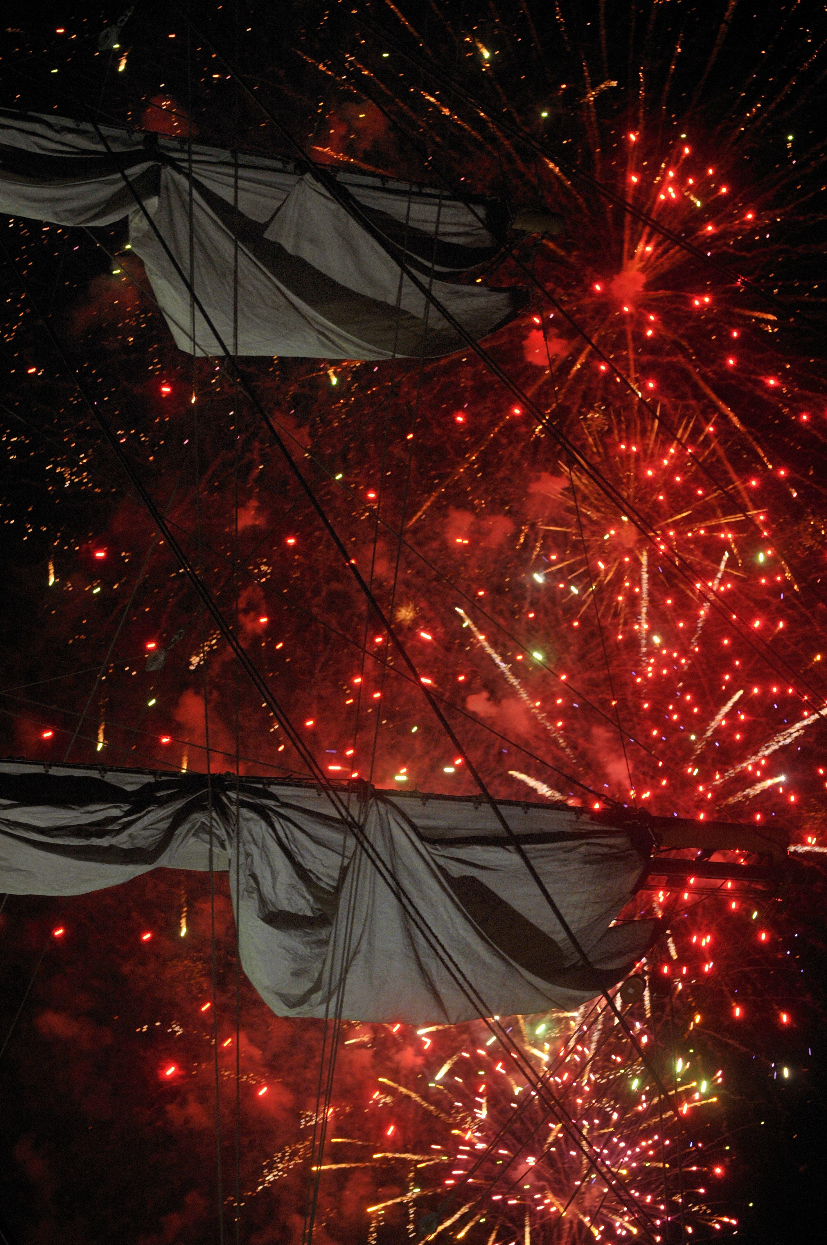 Croisière feu d'artifice à bord des vedettes de Bréhat