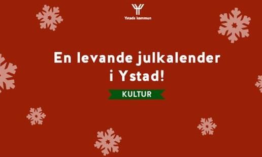 en levande julkalender i Ystad