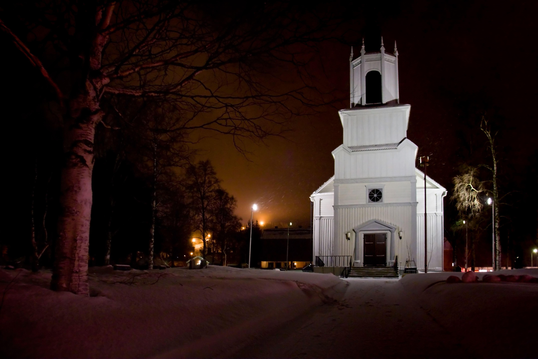 www.ricke.se,  © Malå kommun, Julotta - Malå församling