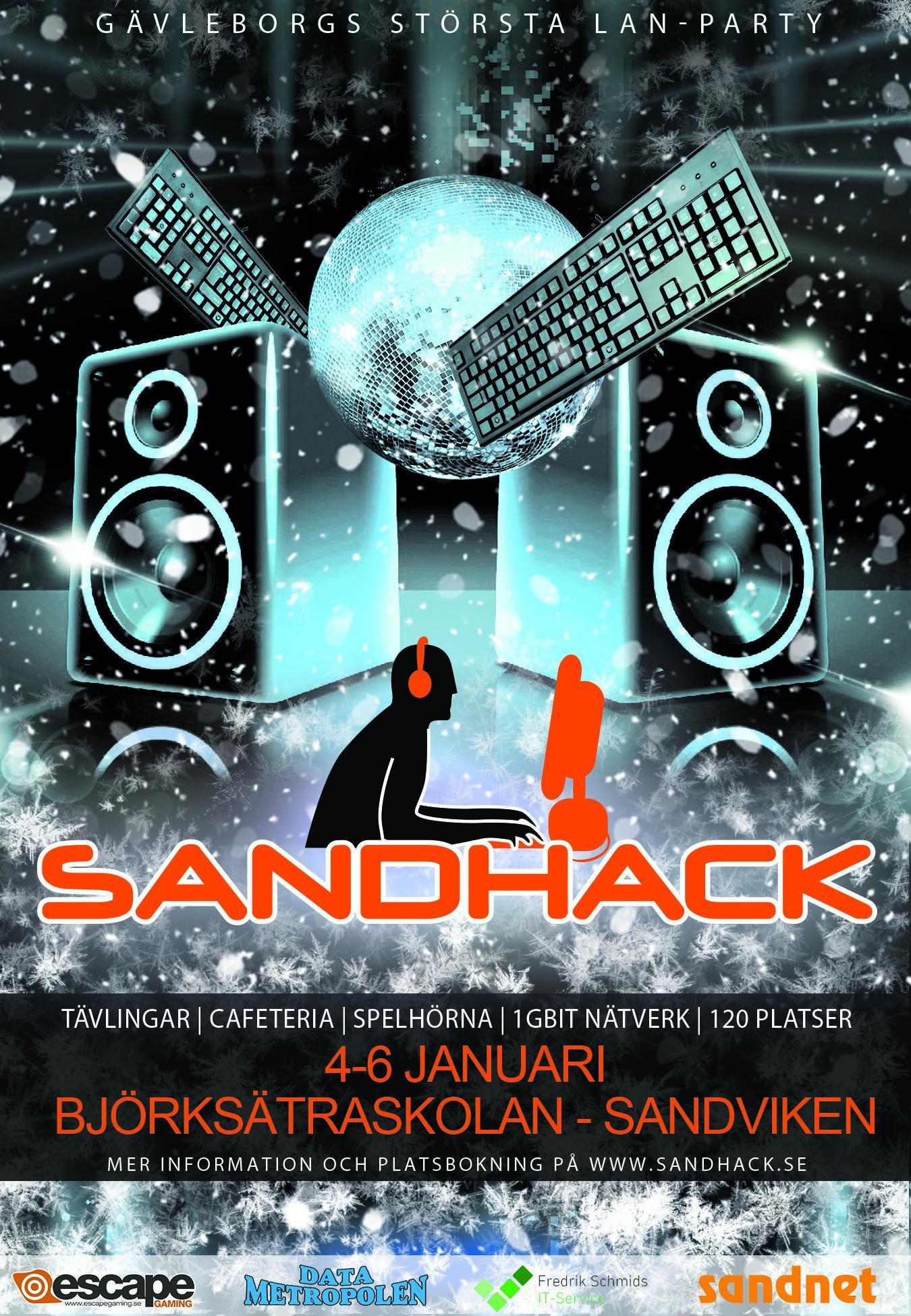 SandHack #19 | LAN-party i Sandviken
