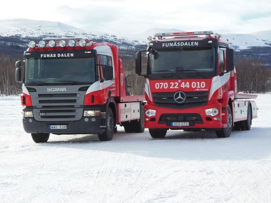 Towing service in Funäsdalen