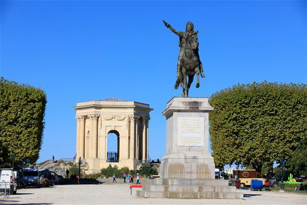 "French guided tour ""Montpelhièr l'Occitane"""