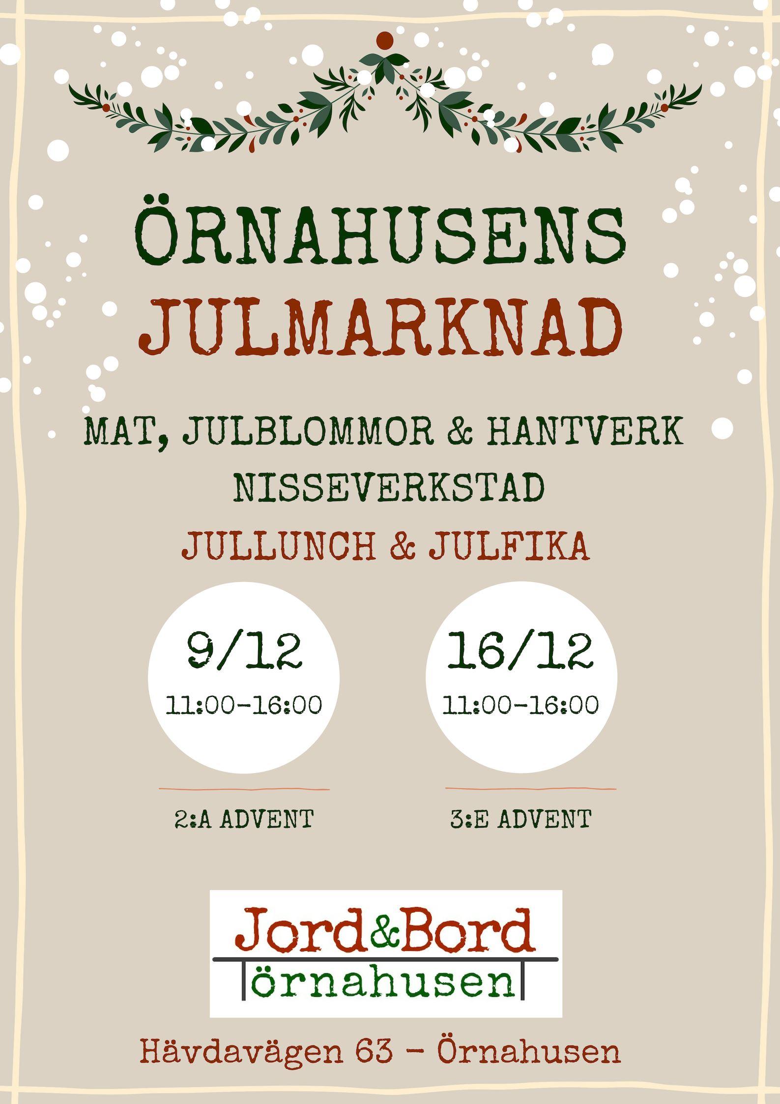 Örnahusens Julmarknad